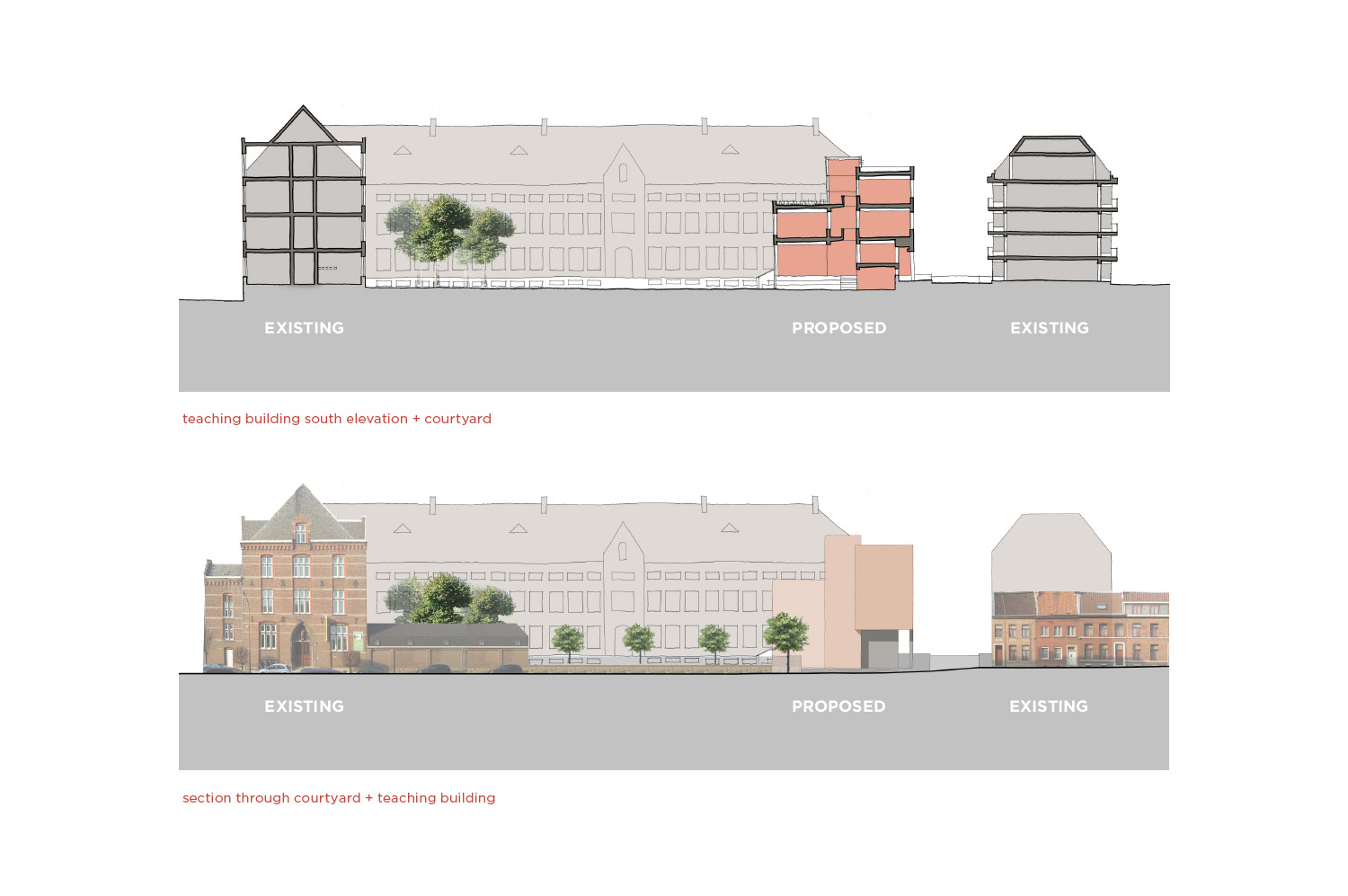 Initial Concept Sketches (2) Coady Architects / ELD Partnership}