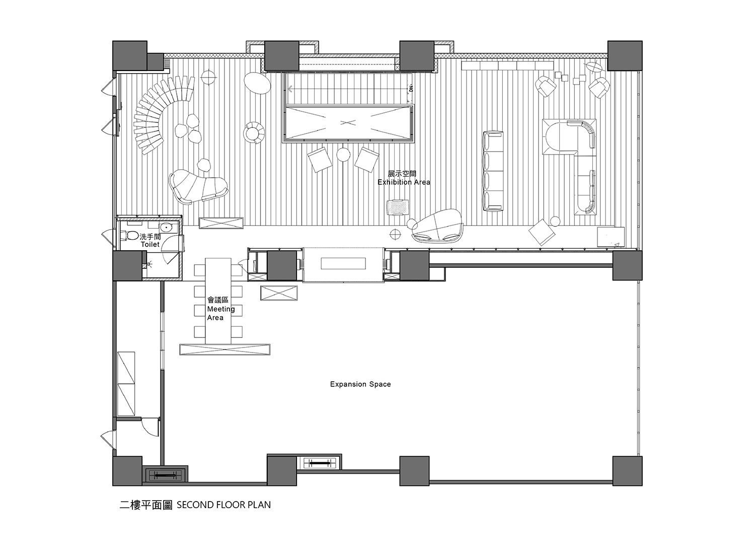 Raytext 3F Plan Chain10 Architecture & Interior Design Institute}