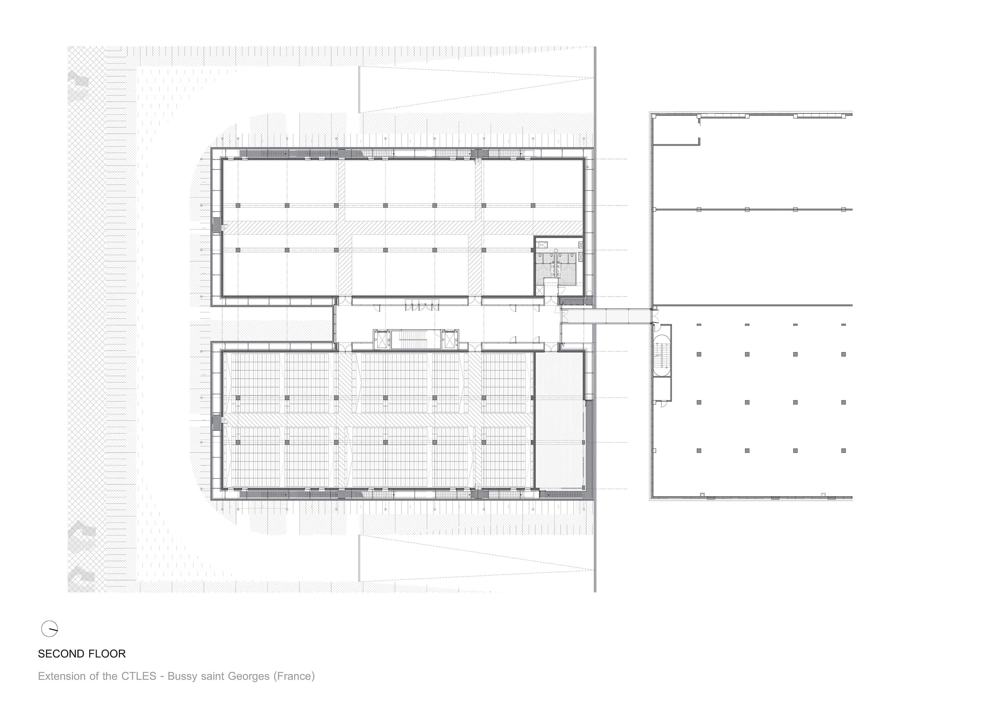Second floor ANTONINI DARMON architects}