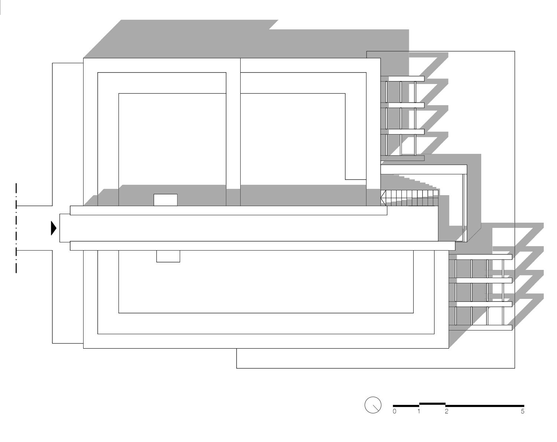 Pianta dei tetti Labdia - Laboratorio di architettura}
