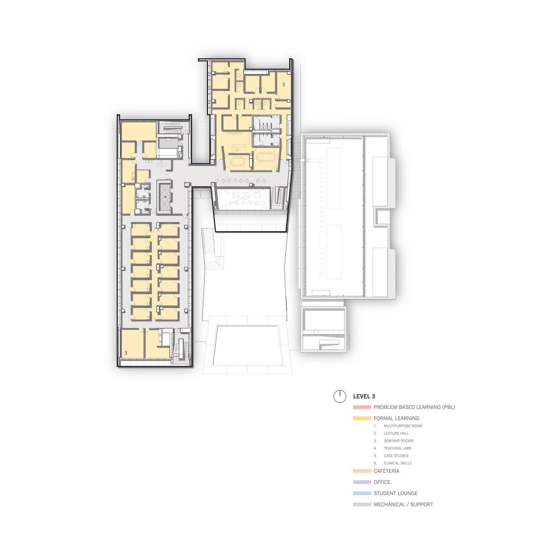 Level 3 Floor Plan © Skidmore, Owings & Merrill}
