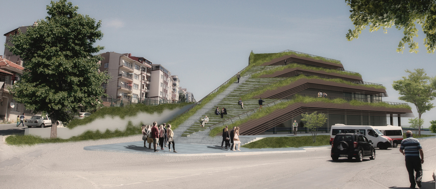 VIEW FROM WEST Manço Architects