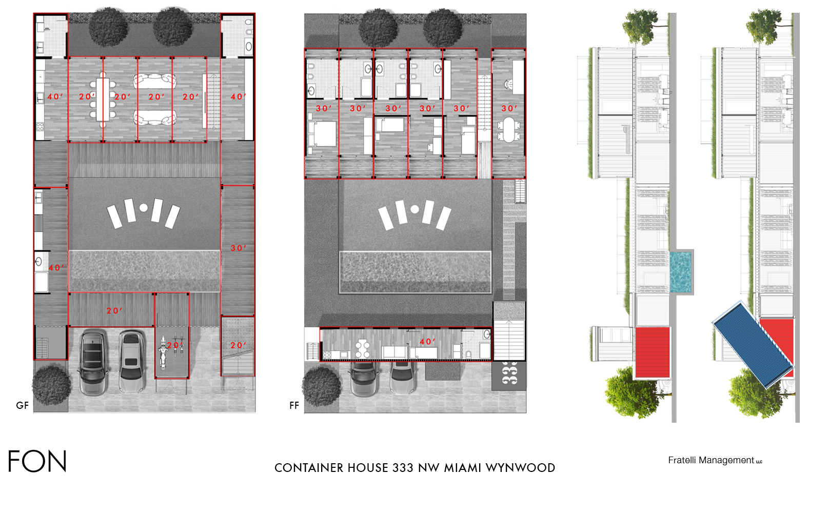 CONTAINERS PLANS