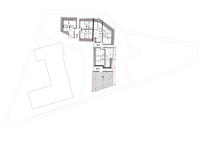 piano settimo ed ottavo-appartamenti standard ed uffici }