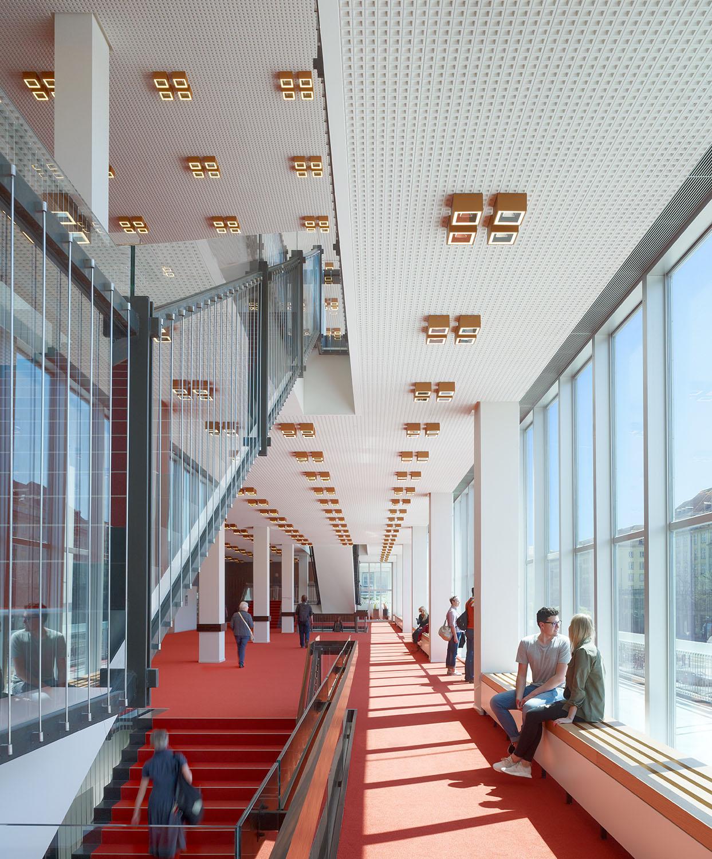 Foyer on the 2nd floor Christian Gahl