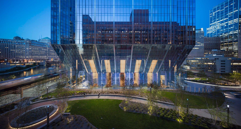 Atrium at Dusk Tom Rossiter Photography