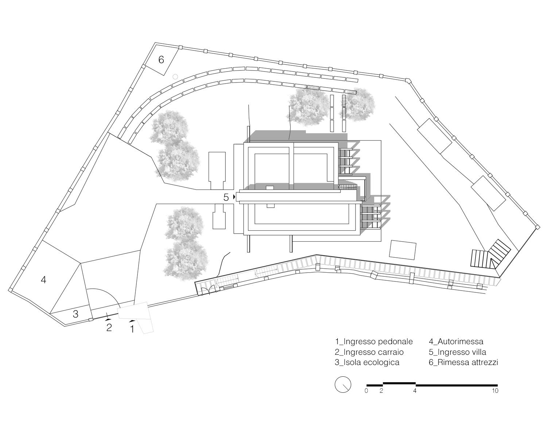 Planimetria generale Labdia - Laboratorio di architettura}