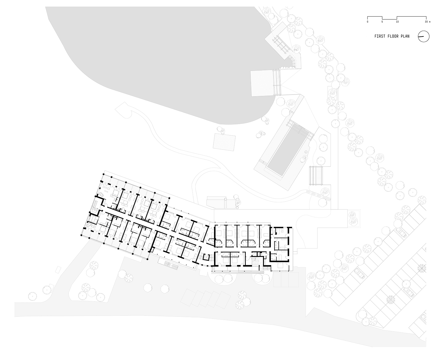 First floor plan noa* network of architecture}