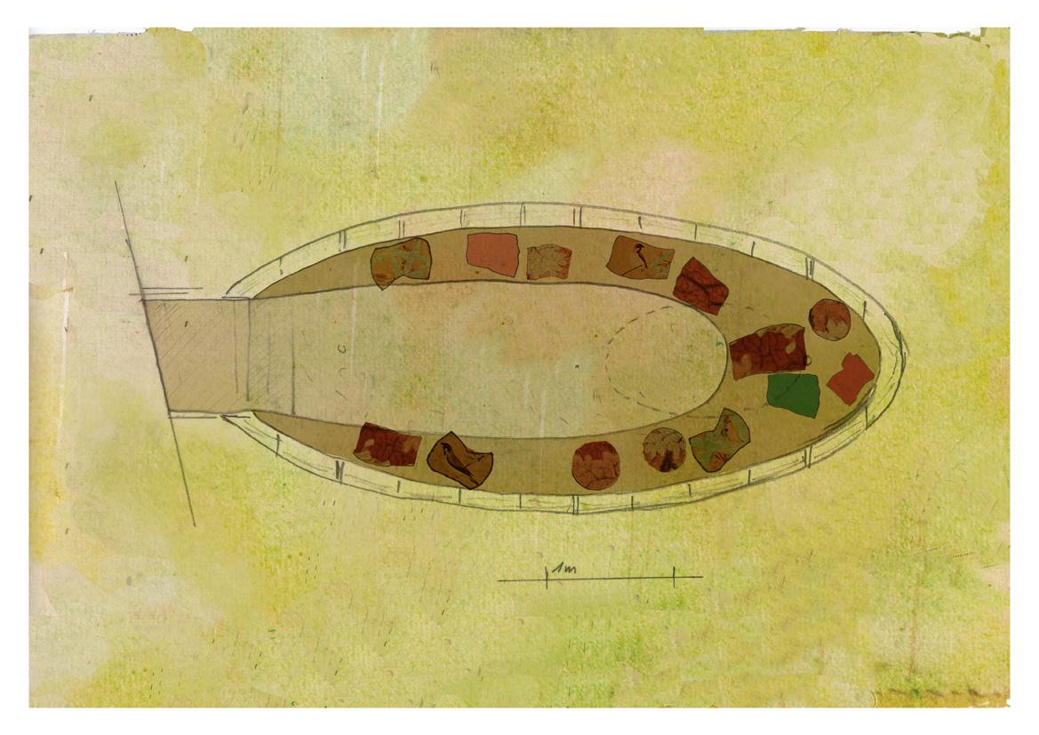 Floorplan of the 'Zeppelin' }