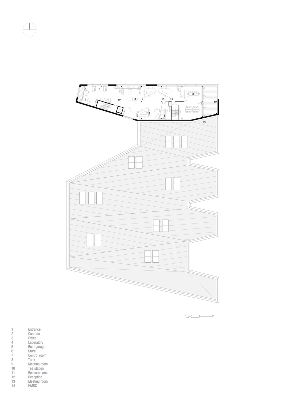 Third floor plan }
