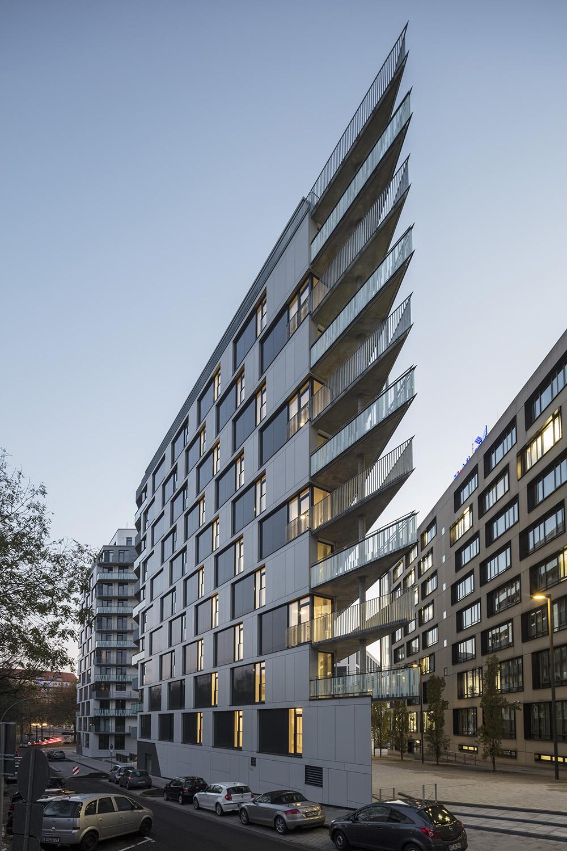 Acute balconies