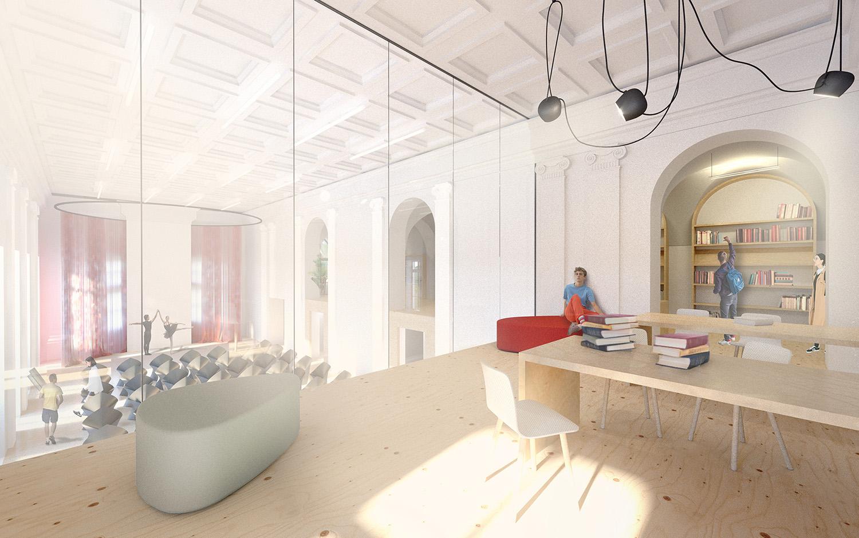 Study room and conference hall Michal Wasielewski