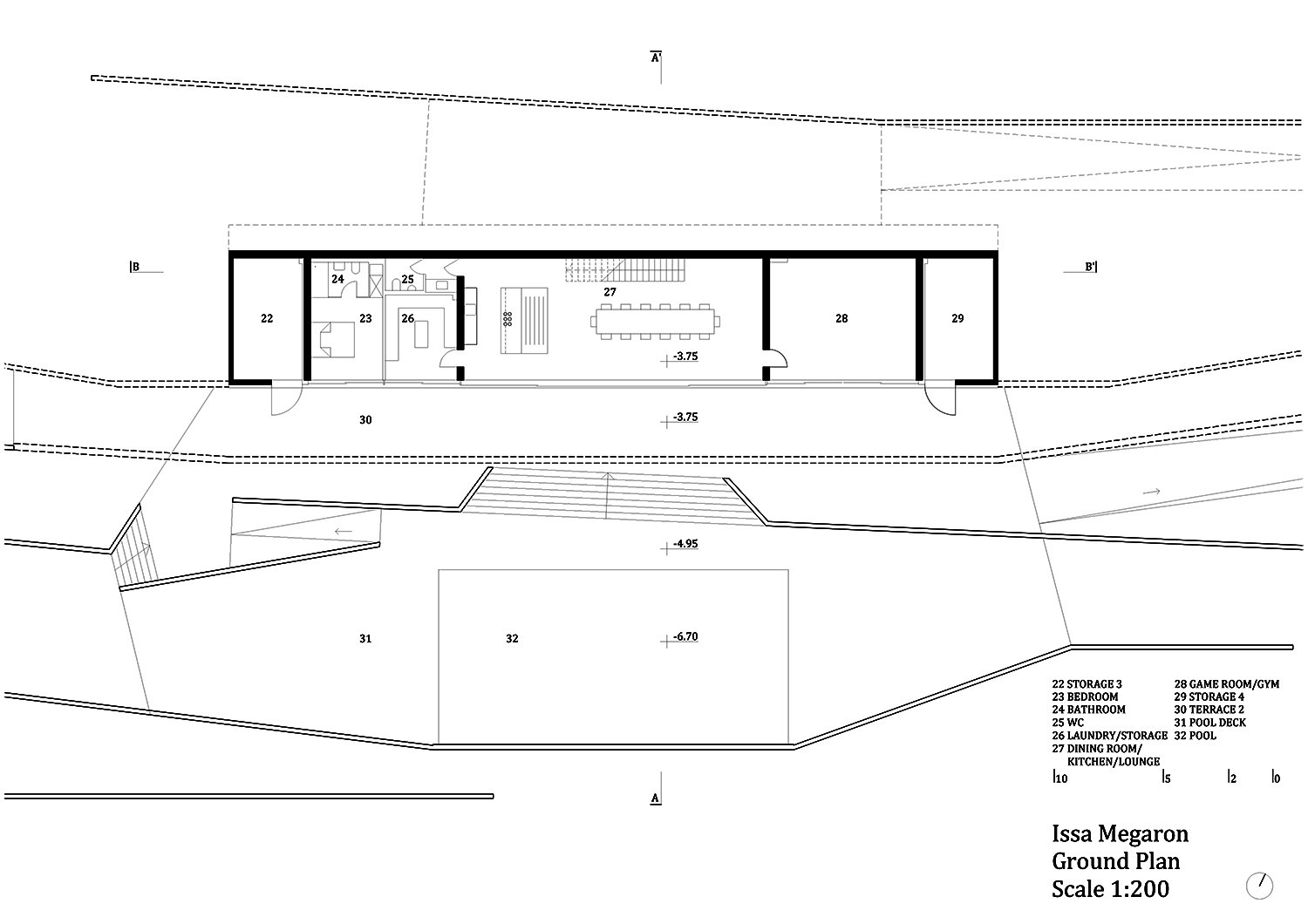 Groundfloor plan PROARH}