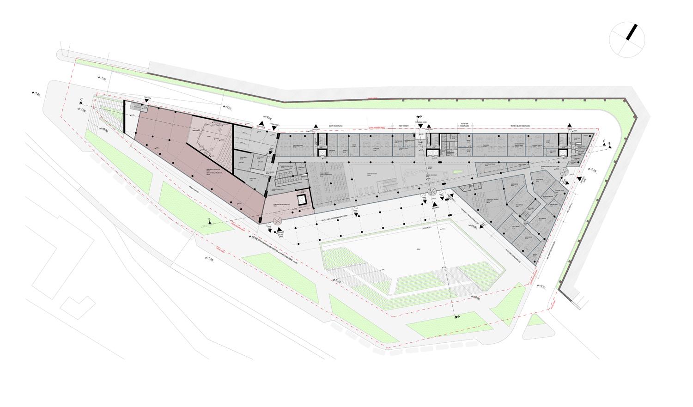 GROUND FLOOR PLAN Manço Architects}