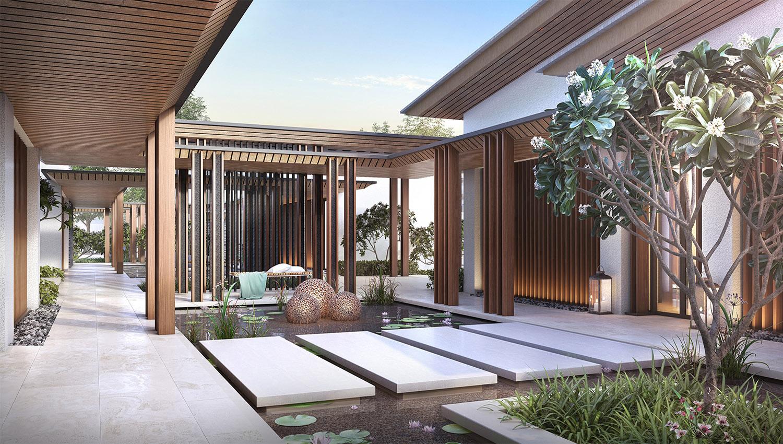 Courtyard garden JT+Partners