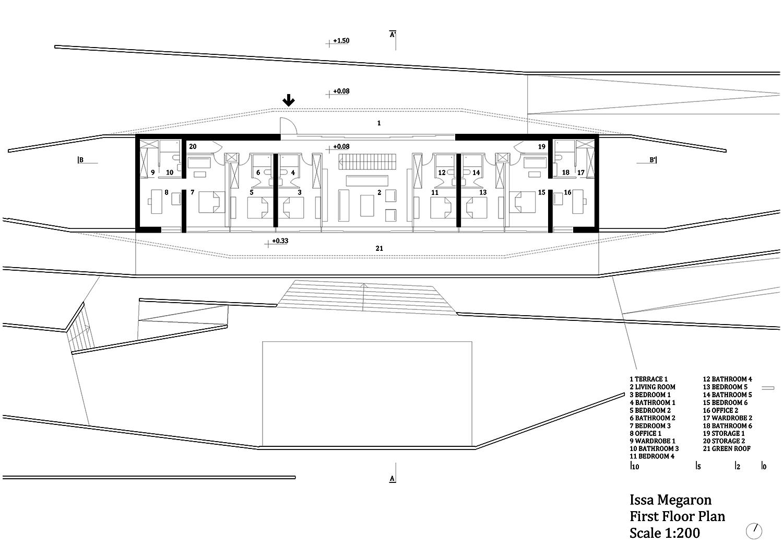 1st floor  plan PROARH}