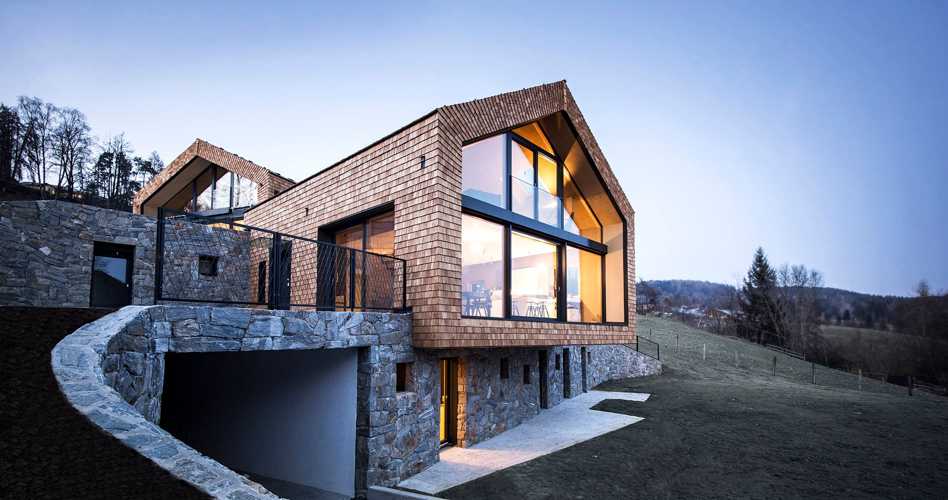 villa for two families