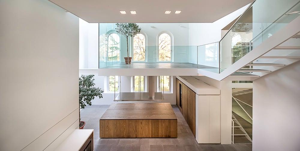 Workshop/Living room - vista dalla balconata  Filippo Poli