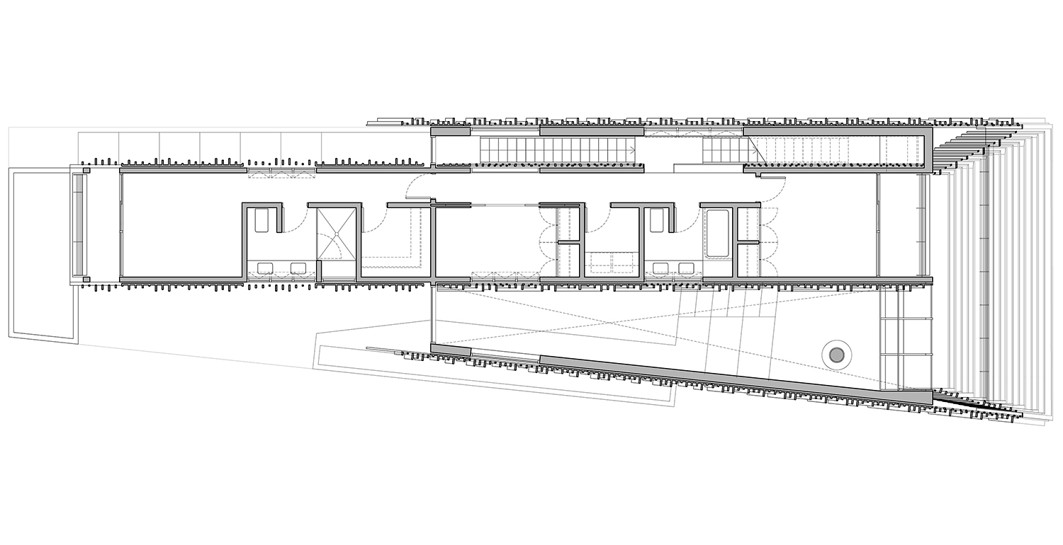 Second level plan actual / office}