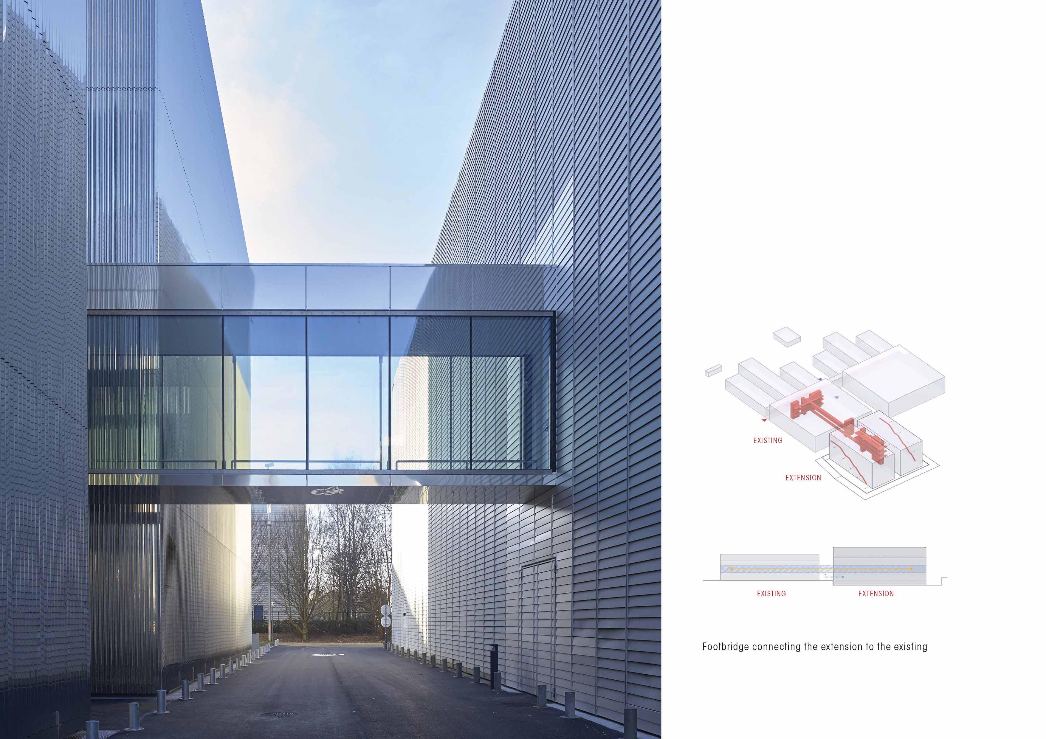 Footbridge ANTONINI DARMON architects}
