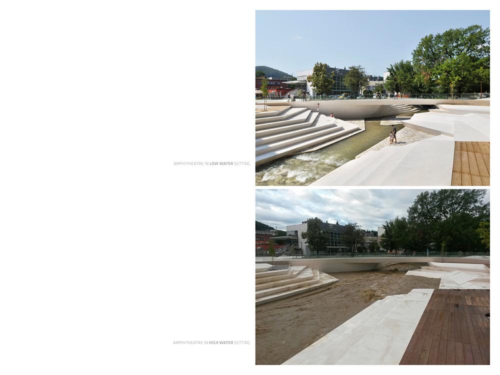 river amphitheatre detail }