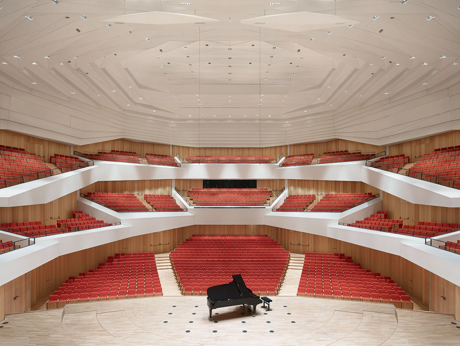 Concert hall, view from stage Christian Gahl