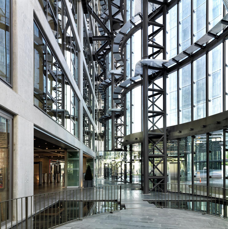 Maslak No.1 Tower - Atrium Entrance Level