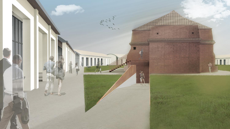 Edificio Ex Polveriera: progetto Archivio Corvino + Multari 2017