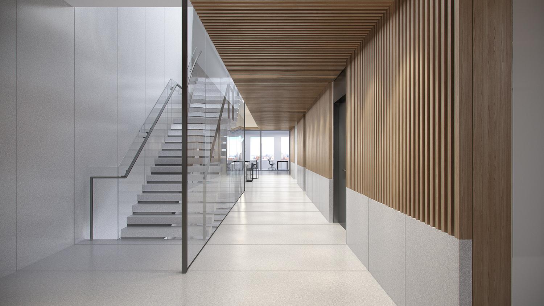 Hallway Rendering 1 }