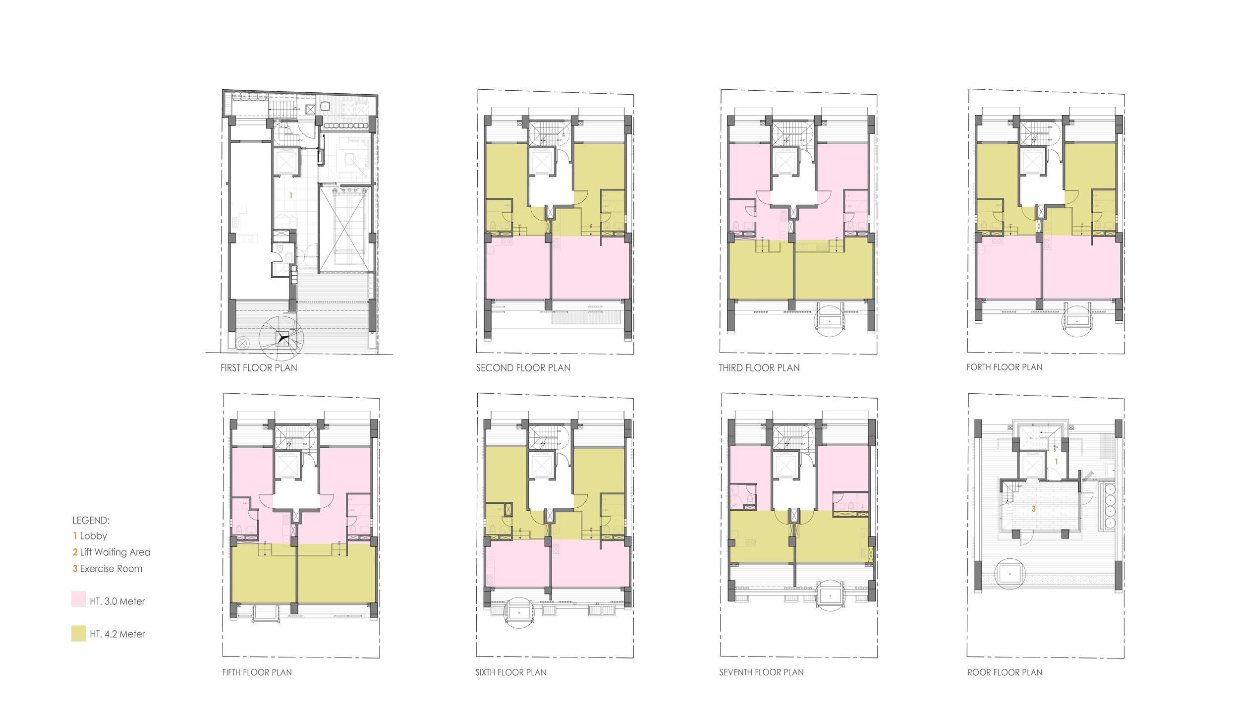 All Floor Plans }