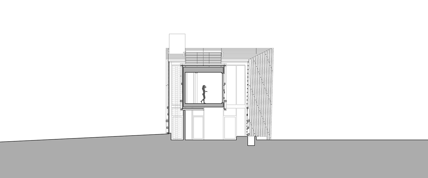 Cross section actual / office}