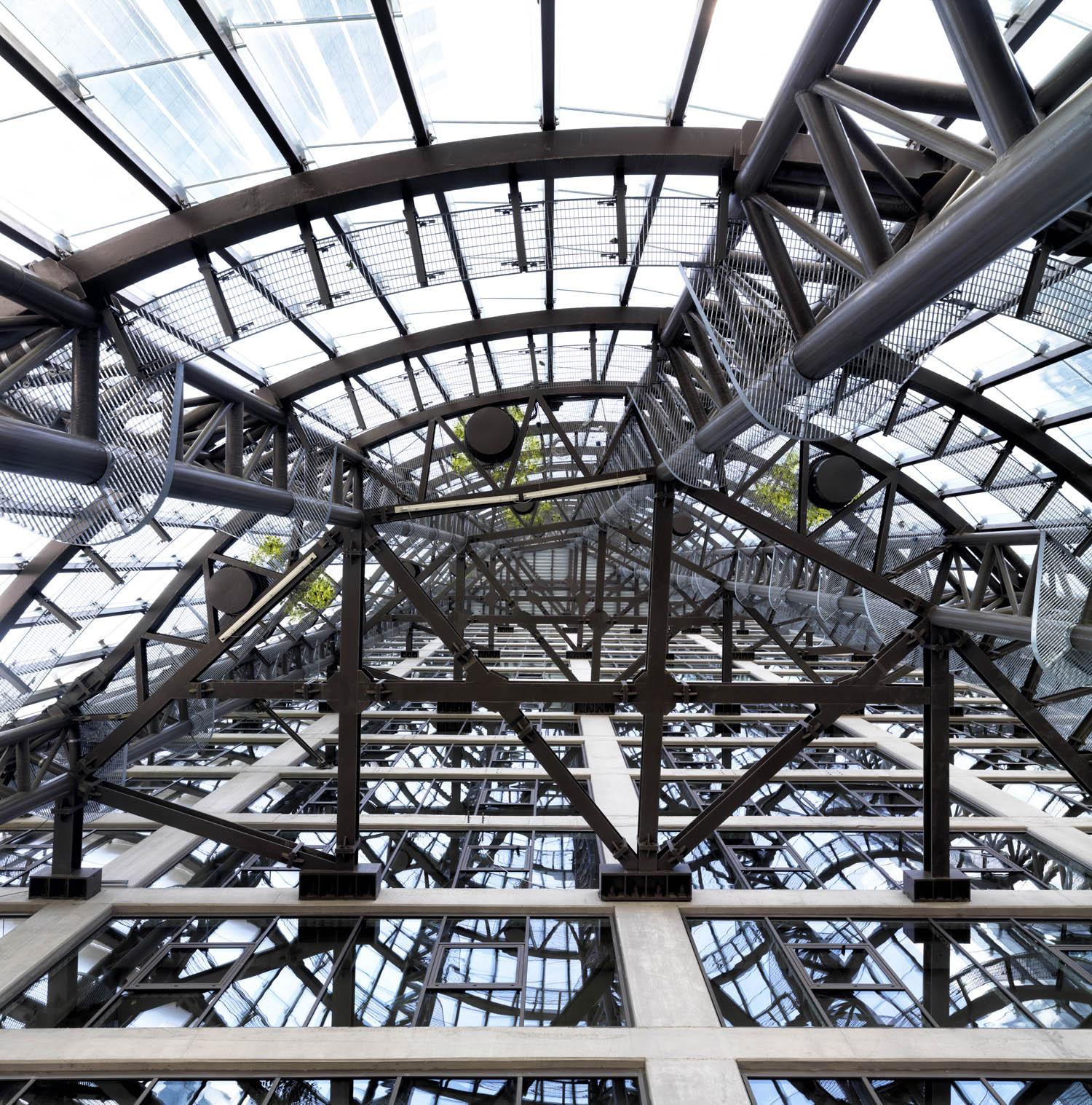 Maslak No.1 Tower - Atrium Detail