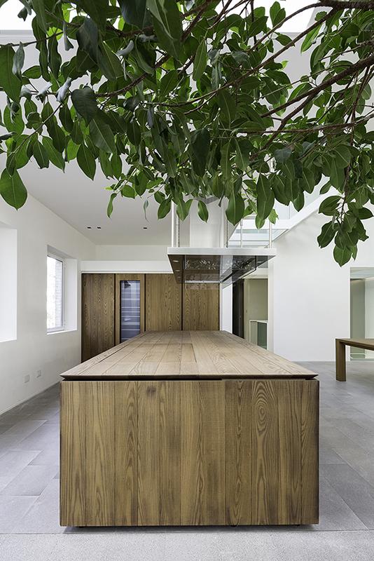 Brunch/Cucina  - prospetto laterale blocco cucina Filippo Poli