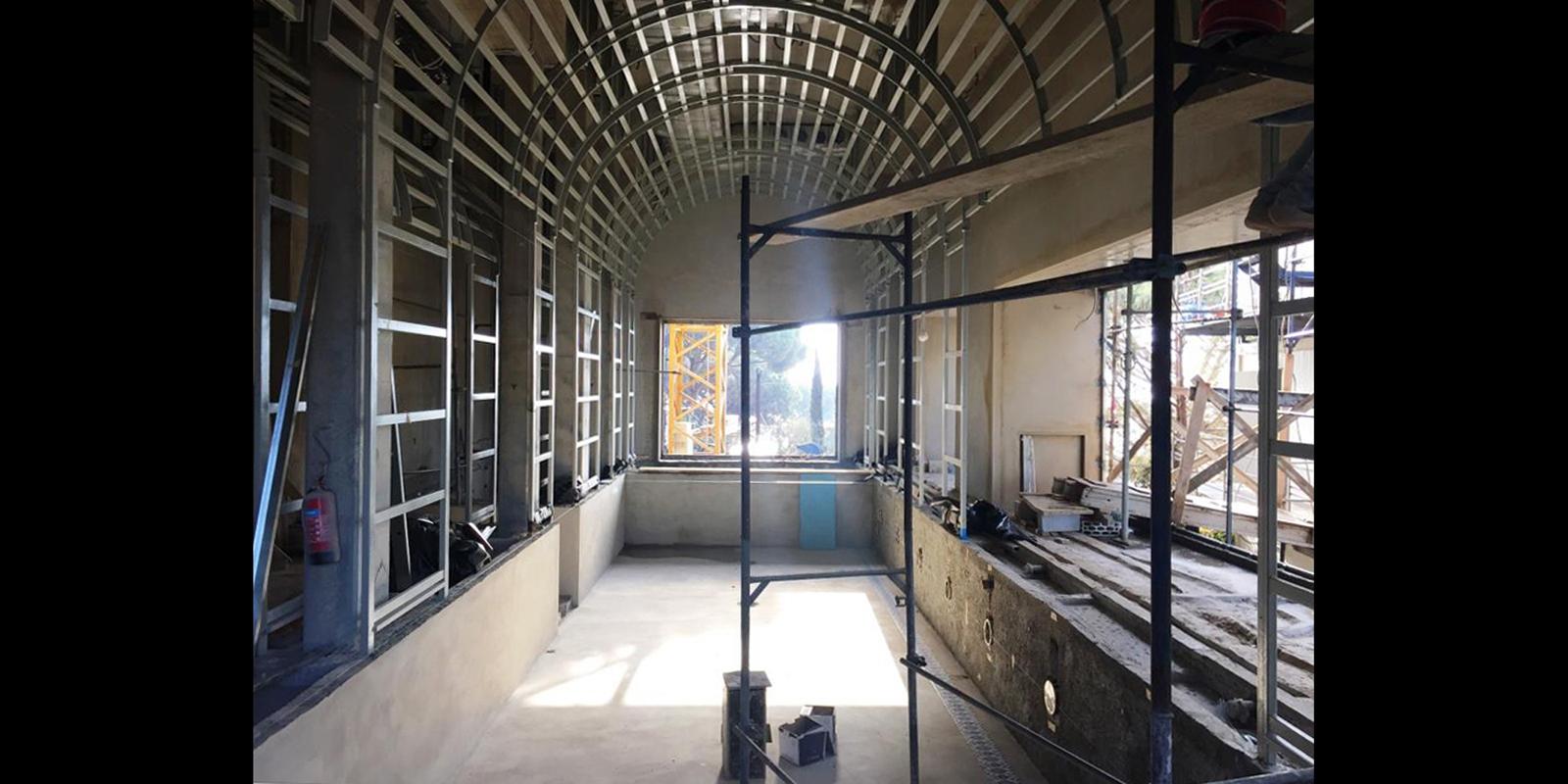 Spa in Beirut_Costruzione piscina
