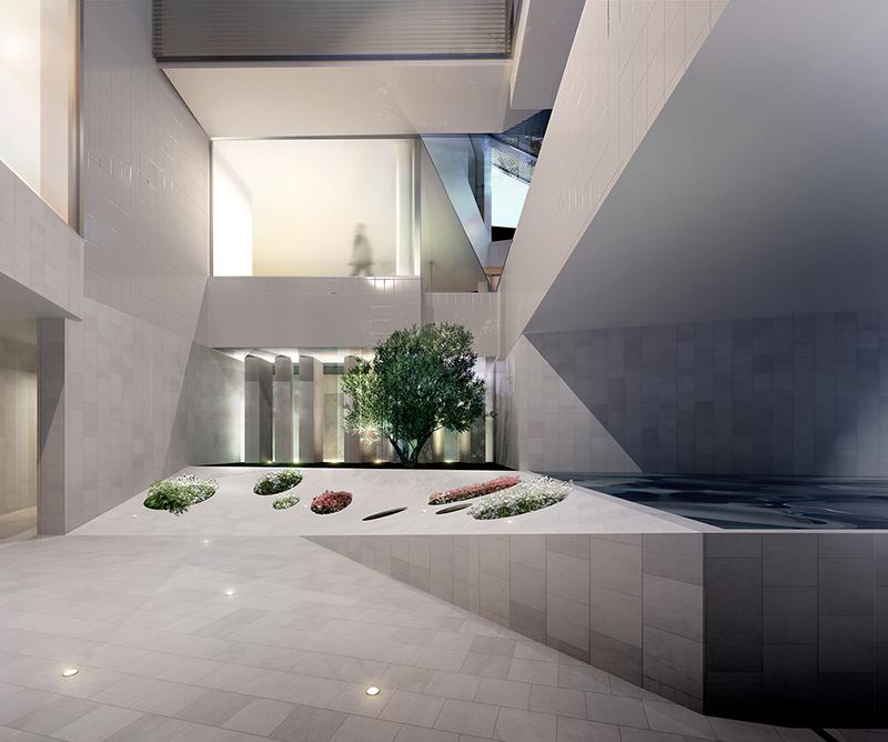 AGi architectes_Three Gardens_render 02 Interior }