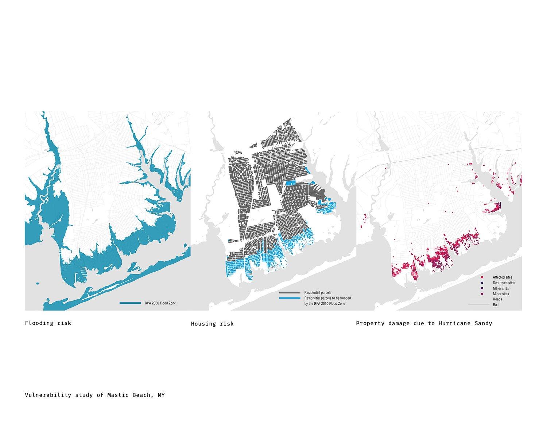 Vulnerability study of Mastic Beach DLANDstudio Architecture and Landscape Architecture + Rafi Segal}