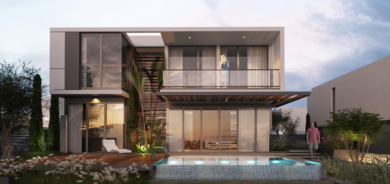 Villa Type C Beyaz Atolye Arcitecture