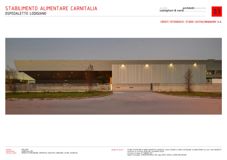 DETTAGLIO DEL CORPO SPEDIZIONI STUDIO CASTIGLIONI & NARDI ARCHITETTI ASSOCIATI