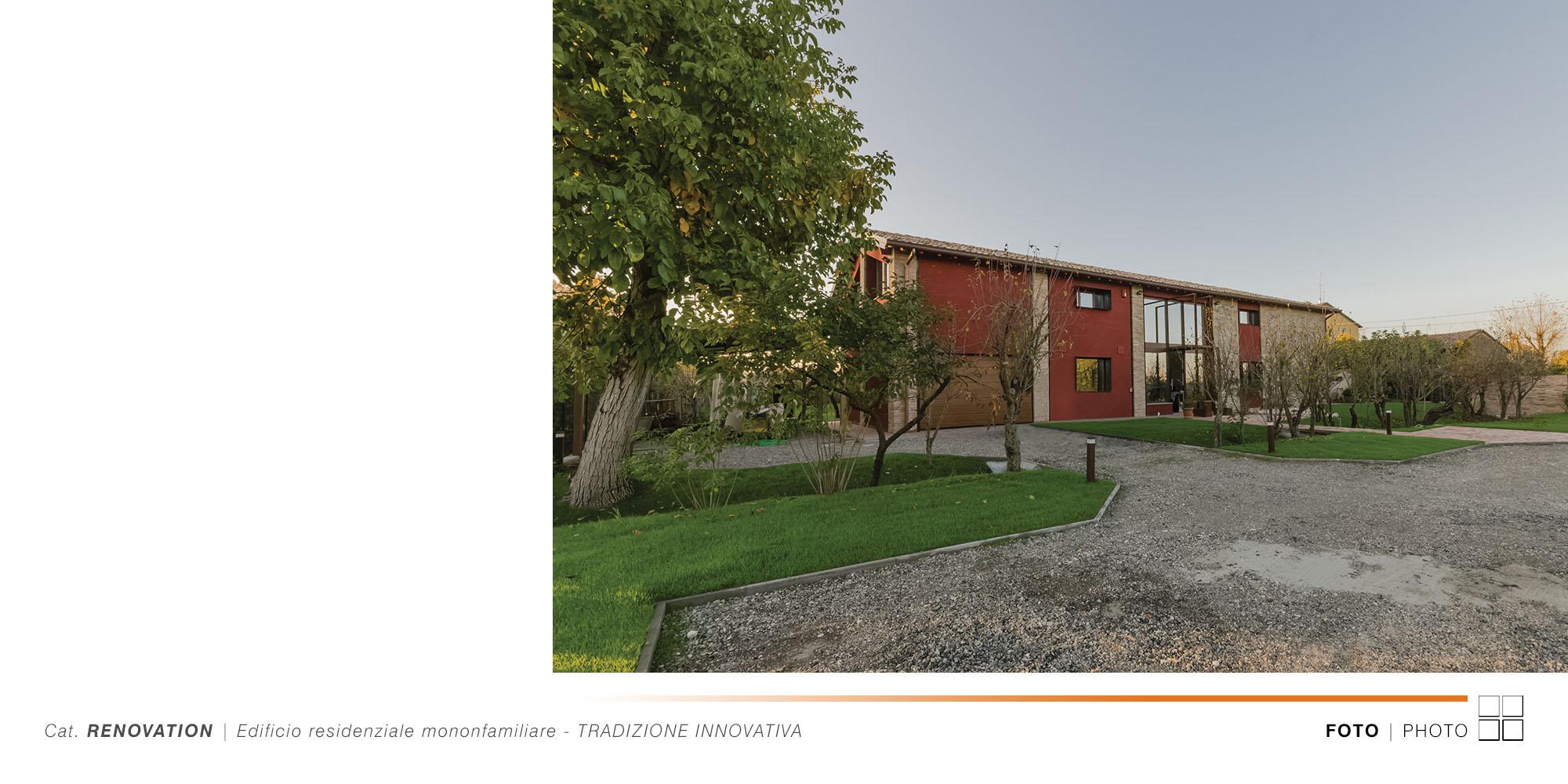 Edificio Residenziale Monofamiliare - TRADIZIONE INNOVATIVA - 001