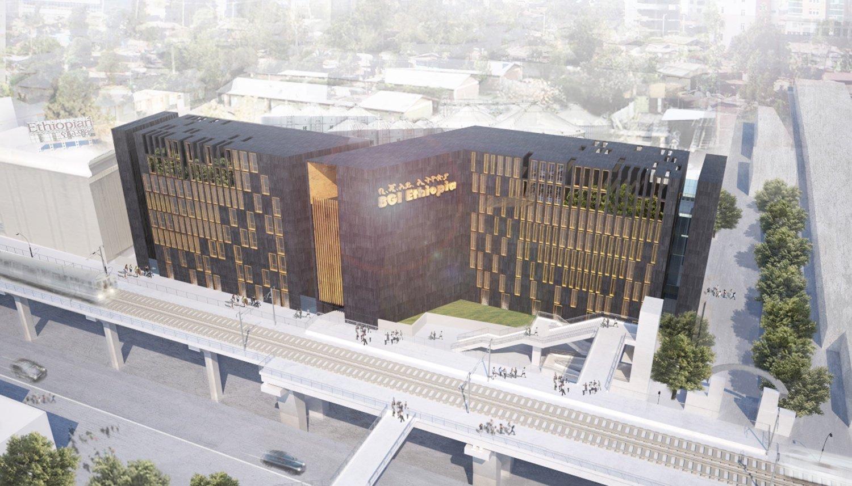prospetto principale lato sud Westway Architects}