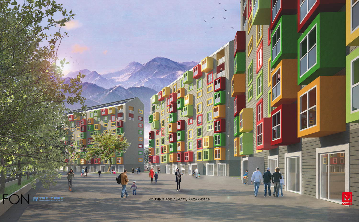 HOUSING FOR ALMATY-FON-01 }