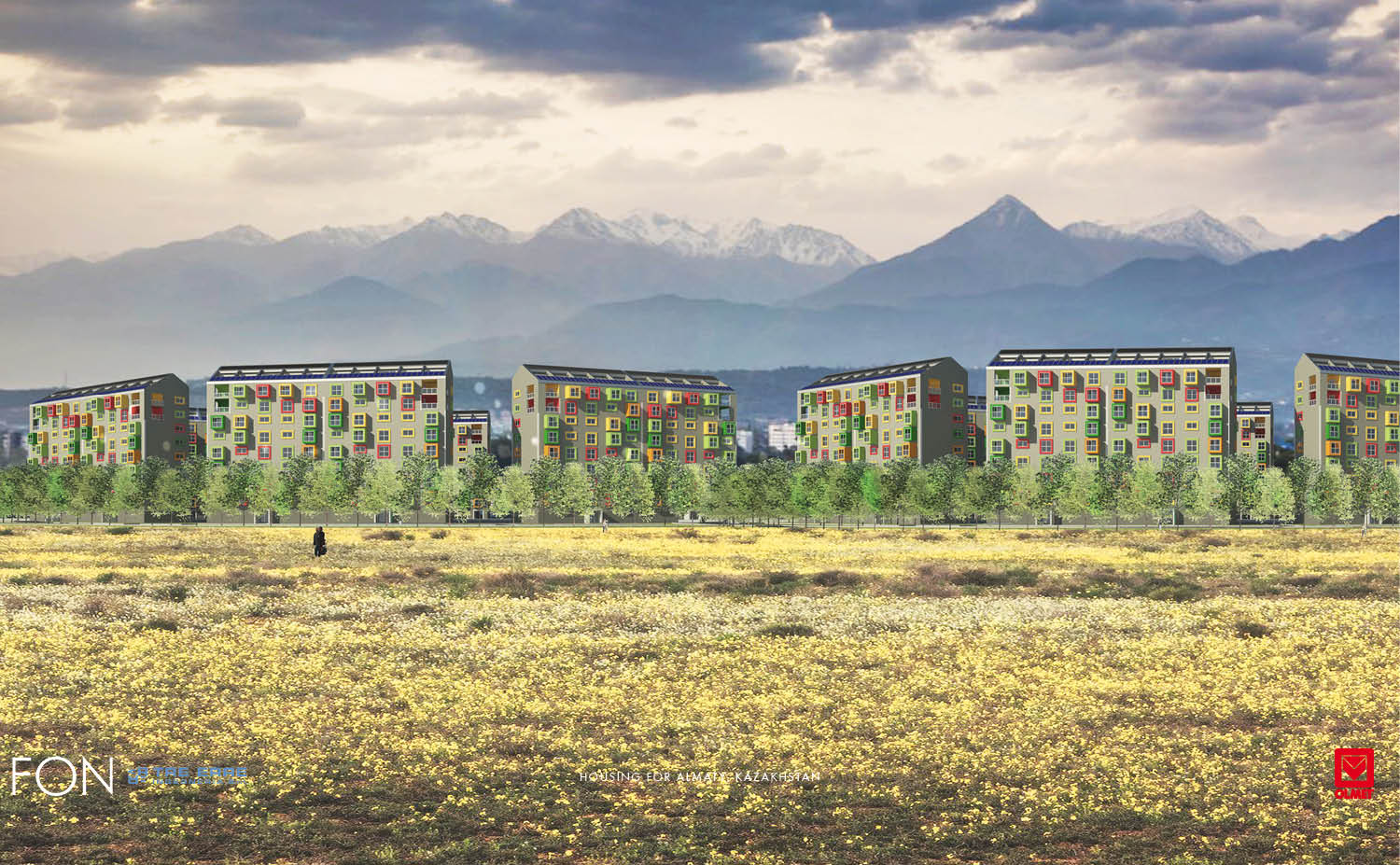 HOUSING FOR ALMATY-FON-02 }