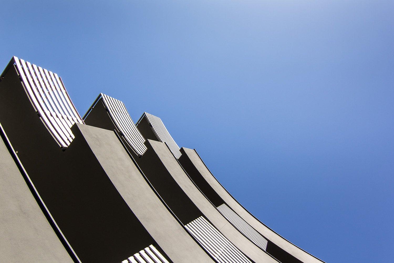 Dettaglio dei balconi laterali