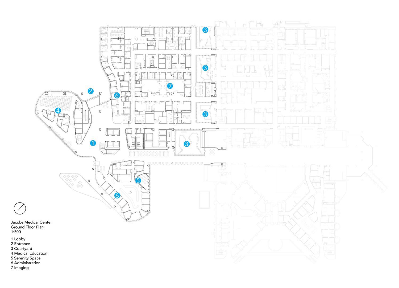 Ground Floor Plan Yazdani Studio of CannonDesign}