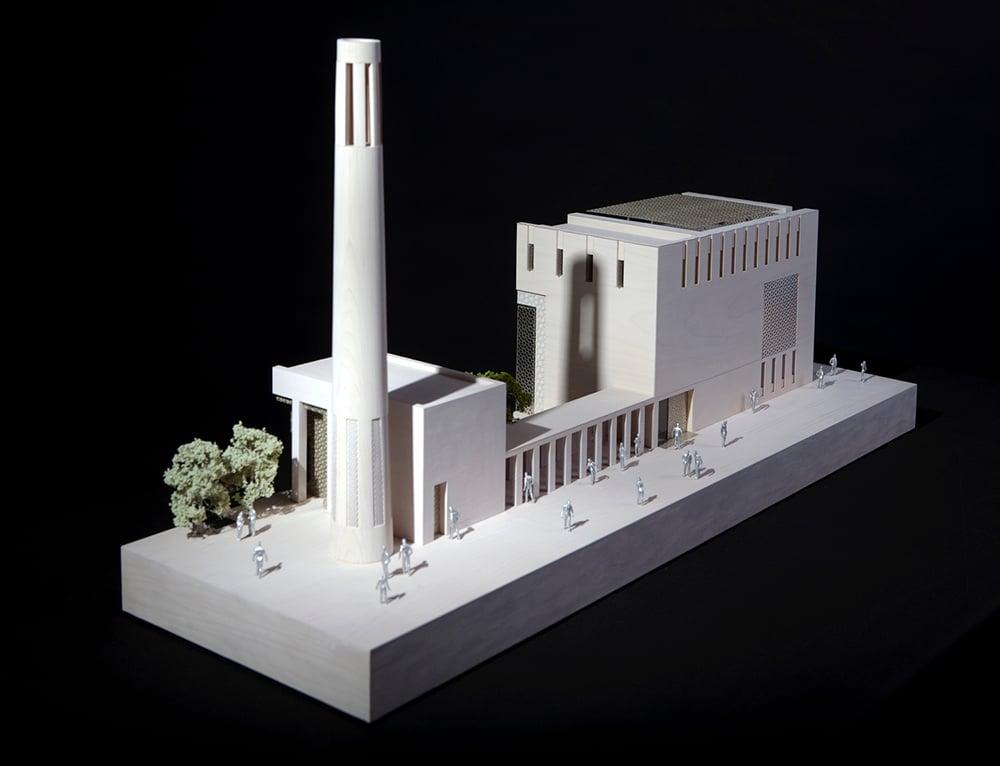 Jumaa Mosque Model©George Torode }
