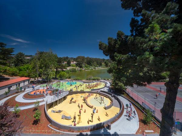 Mountain Lake Park Playground Nic Lehoux