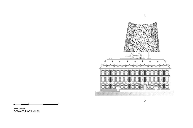 North Elevation Zaha Hadid Architects}