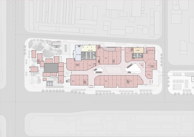 First Floor Plan EID Architecture}