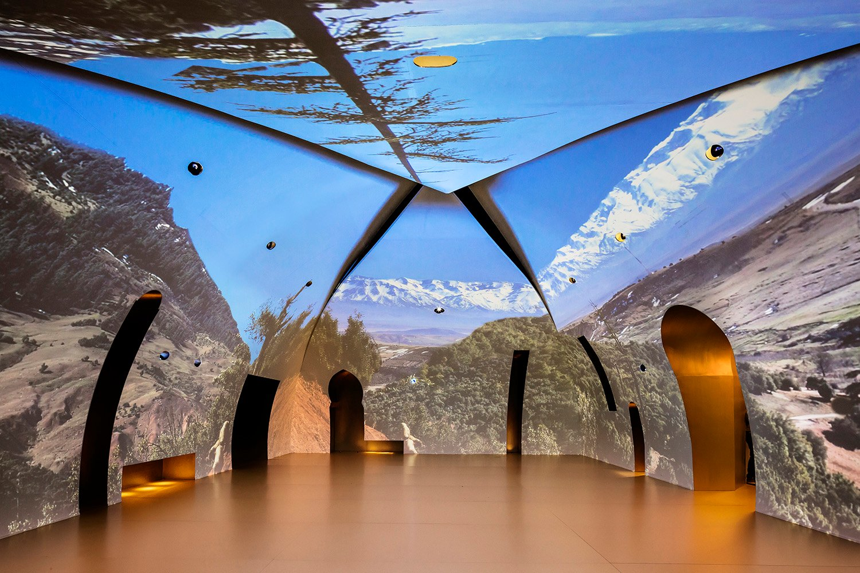 Pavilion interior Luc Boegly