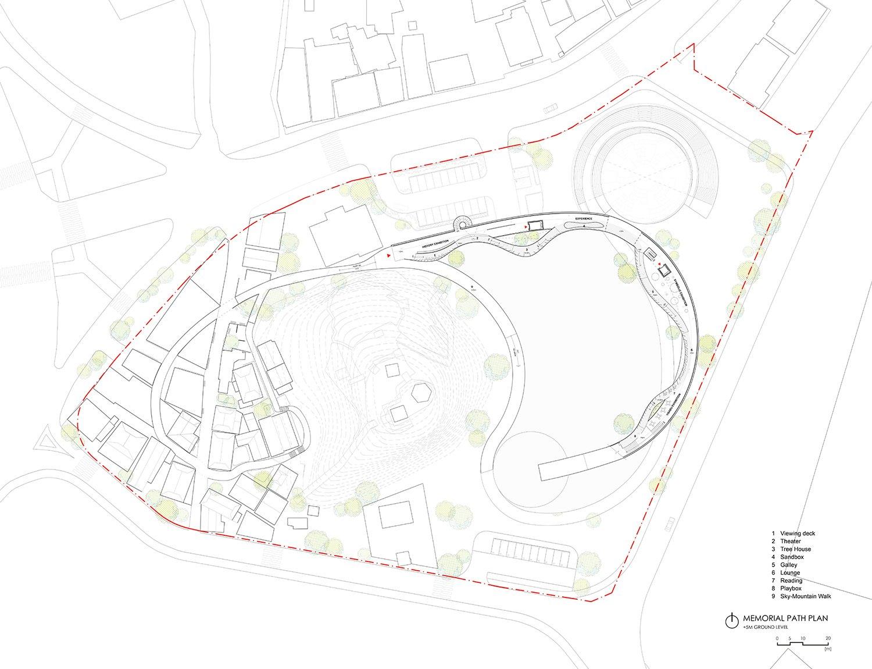 Memorial Path Plan A+U Lab}